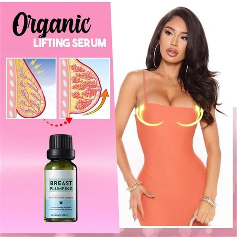 Органическая Сыворотка Для Поднятия Груди, эфирное масло для увеличения груди и увеличения груди