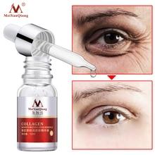MeiYanQiong Collagen Eye Serum Hyaluronic Acid Moisturizing Anti-Aging Serum Reduce Fine Lines Dry Firming Lifting Eye Skin Care