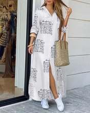 2020 женское модное платье рубашка на пуговицах повседневное