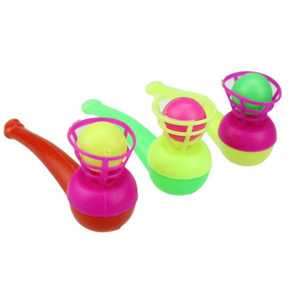 Drop Shipping Pipe Blowing Air Suspension Ball Blowing Ball Puzzle Creative Toy Christmas Gift