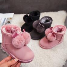 Сапоги mudipanda для маленьких девочек зимние меховые теплые