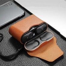 หนังกรณีป้องกันกล่องสำหรับSony WF 1000XM3 ชุดหูฟังไร้สายหูฟังFull Coverแม่เหล็กกระเป๋าProtector