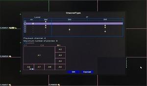 Image 5 - リモコンオーディオ顔検出 Hi3531D 8MP 4 18k xmeye 8CH 8 チャンネルで H.265 + ハイブリッド同軸 wifi 6 1 tvi cvi nvr ahd dvr