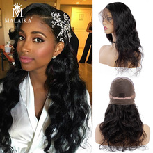 MALAIKA Full Lace Wigs With Baby Hair Body Wave malaika Huma