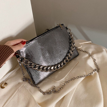 Small Fashion shiny Messenger Bag for Female
