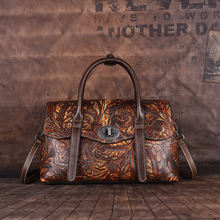 Женские сумки из натуральной воловьей кожи в ретро стиле ручная