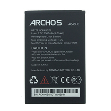 2pcs NEW Original 1500mAh AC40HE  battery  for Archos 40 Helium BP779 High Quality Battery+Tracking Number цена