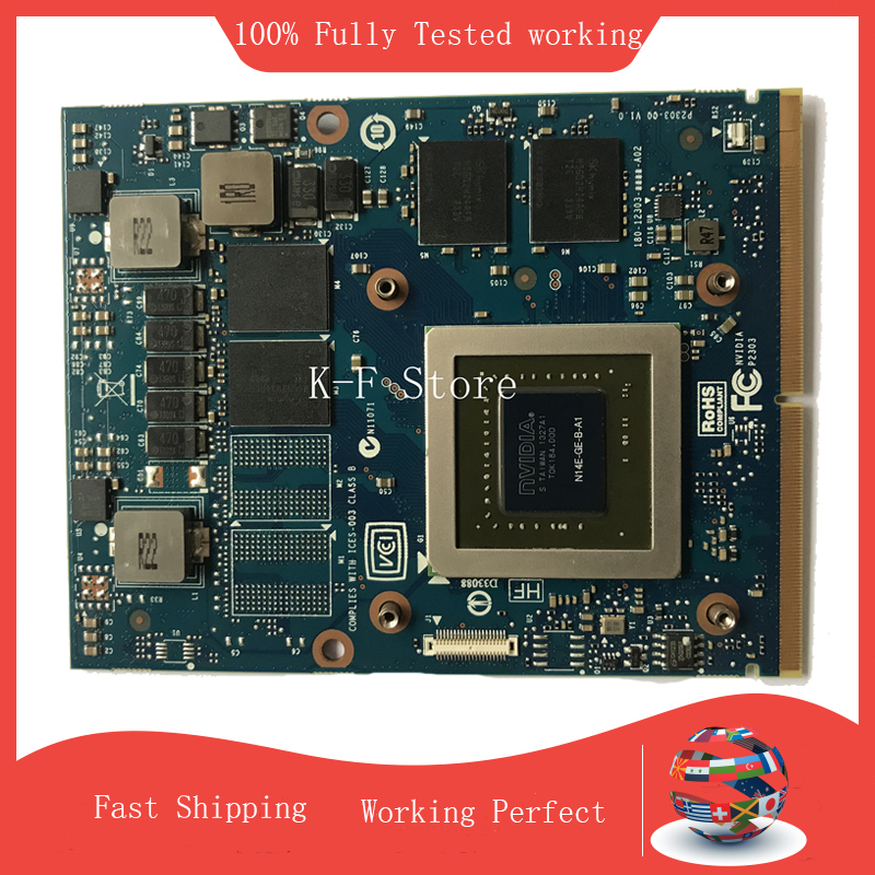 GTX765M N14E-GE-B-A1 GTX 765M 2G MXM Graphics Video Card For M17X R3 R4 R5 R6 M15X M18X R2
