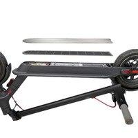 Cubierta de batería de acero inoxidable para patinete Ninebot 9 Max G30  resistente al agua  apilable y resistente al agua  accesorios para Scooter