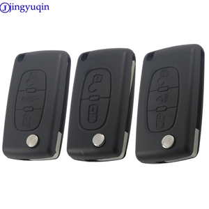 20 шт., 2/3/4 кнопки, чехол для автомобильного ключа для Peugeot 307 308 407 607 для Citroen C2 C3 C4 C5 C6 C8 Xsara Pica, раскладной чехол для автомобильного ключа