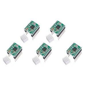 Image 5 - RepRap RAMPS 1.4 ชุด MEGA 2560 R3 + Heatbed MK2B + 12864 LCD Controller + 5pcs A4988 + 6pcs Mechanical SWITCH สำหรับ 3D เครื่องพิมพ์