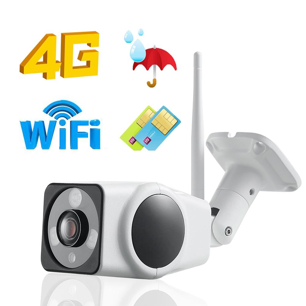 1080P 4G Sim kaart IP Camera Outdoor 720P HD Waterdichte Wireless Security IR Nachtzicht CCTV Camera ondersteuning P2P CAMHI-in Beveiligingscamera´s van Veiligheid en bescherming op AliExpress - 11.11_Dubbel 11Vrijgezellendag 1