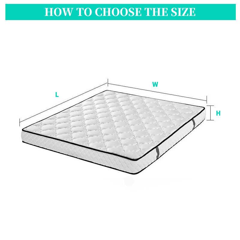 5 rozmiar łóżka pokrycie materaca satynowe jedwabne dopasowane prześcieradło duży rozmiar miękki ochraniacz fajne prześcieradło Attress Pad elastyczna lina pościel