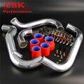 Обновленный турбо интеркулер трубопровод набор подходит для Nissan 180SX S13 CA18 CA18DET 89-91 синий/красный/черный