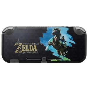 Image 4 - Nieuwe Matte Plastic Shell Case Cover Voor Nintendo Swich Lite Console Voor Schakelaar Lite Controller Bescherming Funda