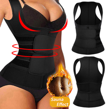 Womens Waist Trainer Corset Vest Sauna Sweat Suit Compression Shirt Slimming Body Shaper Workout Tank Tops Weight Loss Shapewear