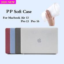 Macio Caso Laptop Para MacBook Air Caso 2020 Toque ID A2179 A1932 13 Pro 13 A2289 A2159 A1706 Para Pro 16 em A2141 2019 Tampa Funda