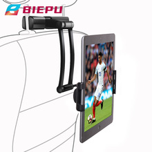 BIEPU nowy uchwyt samochodowy na telefon tylne siedzenie samochodowe uchwyt na tablet telefon uchwyt na tablet z tylnym zagłówkiem tanie tanio CN (pochodzenie)