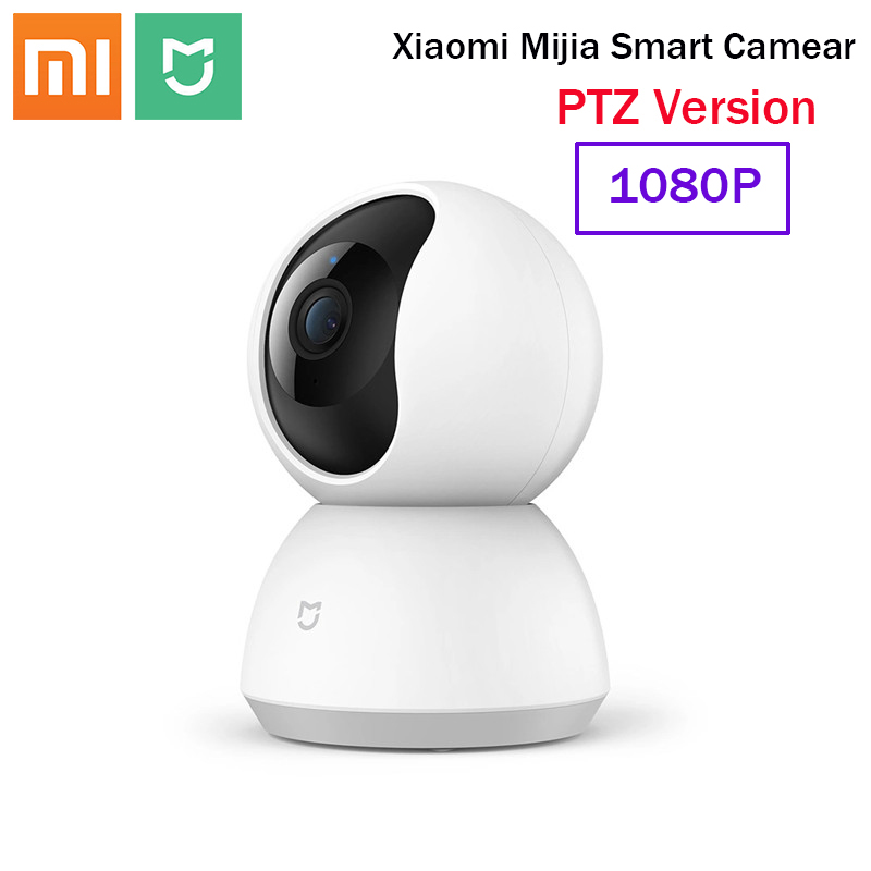 Xiaomi Mijia Smart Webcam Camera PTZ Version 360° 1080P HD Night Vision Wireless Wifi IP Webcam Smart Home Cam View Baby Monitor
