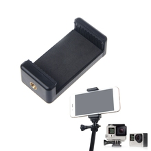 цена Tripods Accessories for phone Durable Phone Clip Bracket Holder Mount For Selfie Stick Tripod Monopod Stand dropshipping