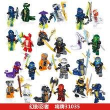 цена на 2019 Hot Heroes Kai Jay Cole Zane Nya Lloyd Weapons Mortor Building Blocks Action Figures Kids Toy Ninja Legoings Ninja Bricks