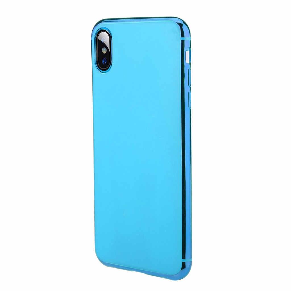 Ouhaobin 電話カバー iphone XS 最大 6.5 インチ超薄型電着ソフトシェルケース s 360 degreesFull ボディ保護ケース