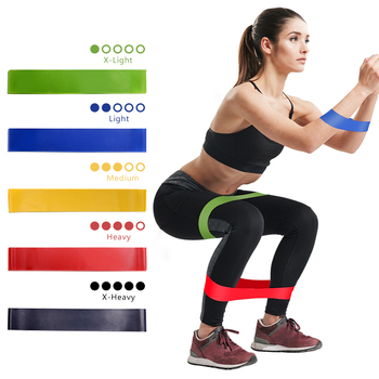 Mini Loop Band Fitness Gum Elastic Bands For Resistance Gym Expander Yoga Crossfit Training Workout Equipment - discount item  30% OFF Fitness & Body Building