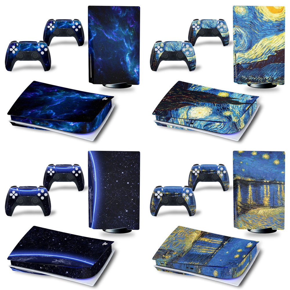 Find many great new & used options and get the best deals for Vinyl Skin Sticker Decal for Playstation 5 PS5 Disk Edition 1