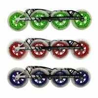 Inline roller Rahmen roller skating rahmen skate cadomotus chassis mit hohe qualität räder und lager