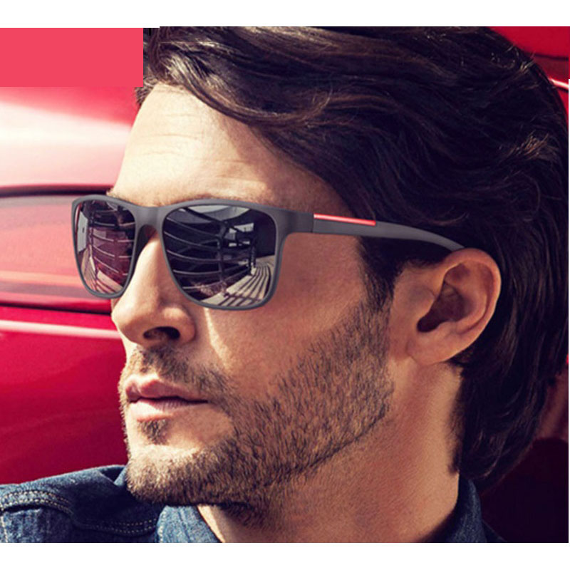 OFIR NEW 2019 Fashion Square Sunglasses Men Driving Sun Glasses For Men Brand Design High Quality Mirror Eyewear Male Women image