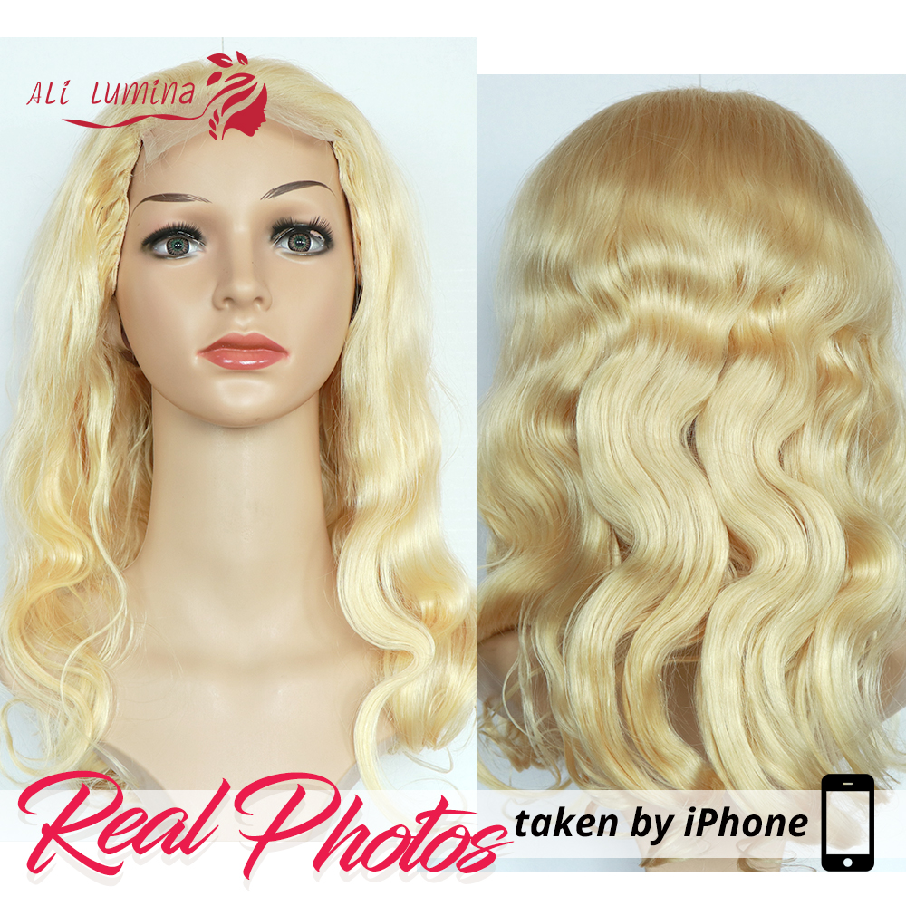 613 Honey Blonde lace front wig  Body Wave Lace Front  Wig 8-26 inch Ombre Frontal Wigs for Black Women 3