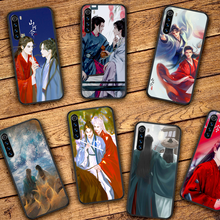 WORD OF HONOR Zhehan Gong Jun Phone Case For Xiaomi Redmi Note 7 8 8T 9 9S 4X 7 7A 9A K30 Pro Ultra black Waterproof Trend Cover
