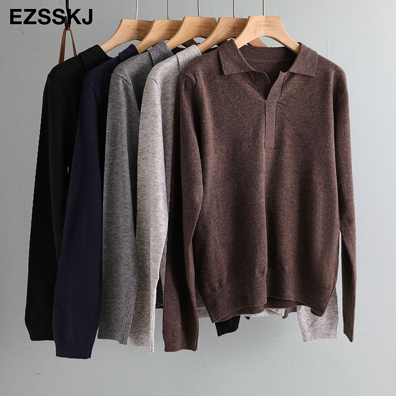 casual spring autumn thin oversize sweater pullovers Women basic loose square neck cashmere sweater female knit jumper