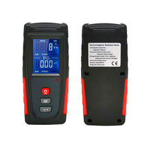Portable Digital Electromagnetic Field Radiation Detector Rechargeable Emf Radiation Meter Of Electromagnetic Radiation Magnetic professional field intensity indictor of low frequency emf meter emf828 electromagnetic field tester 0 1 400mg 1 4000mg