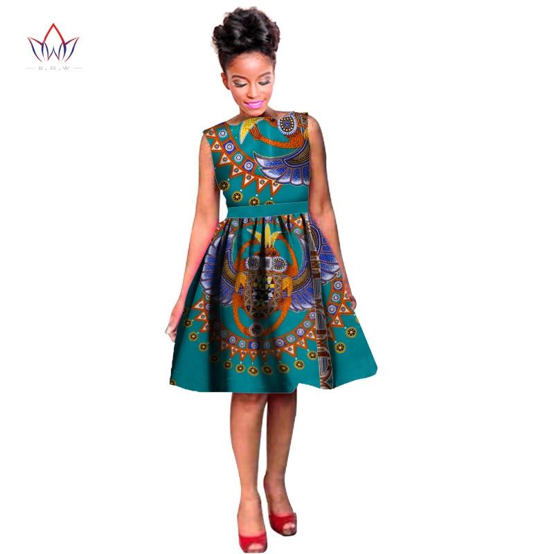 Dashikis Dress Dashiki 2020 Summer Summer Vestidos Տպել - Ազգային հագուստ - Լուսանկար 2