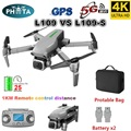 L109 GPS Дрон 4K с камерой HD 5G WIFI Квадрокоптер Дрон Профессиональный Квадрокоптер seflie Дрон мини дроны 1 км дальность