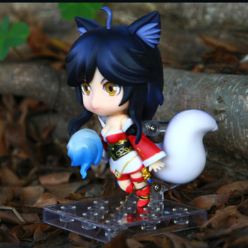 Nendoroid 10cm Cute Anime Game Hero Ahri Nendoroid PVC Action Figure Movable Model Doll Collection Toys For Children Christmas Gifts 411 1