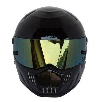 2020 New Full Face Motorcycle Helmet Casco Moto Professional Racing Helmet Men Capacete Moto Kask DOT Motocross Off Road Touring