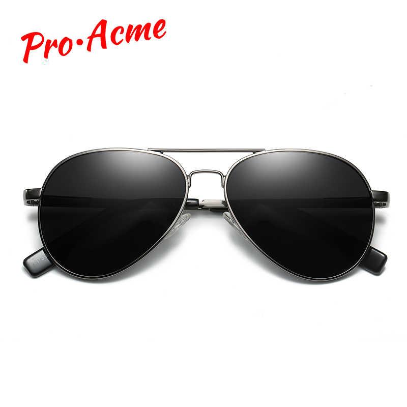 פרו Acme 52mm קטן טייס מקוטב ילדי תינוק משקפי שמש עבור נוער למבוגרים בני בנות שמש משקפיים PC1451