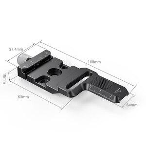 Image 2 - SmallRig Arca Quick Release Clamp für Zhiyun Kran M2 Gimbal Stabilisator Arca swiss Klemme Zu Montieren Auf Gimbals/arca Stative 2508