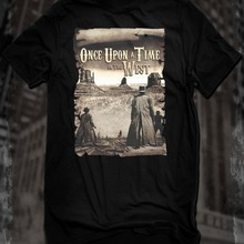 New Black Once Upon A Time In The West Western Movie Tops Tee T Shirt