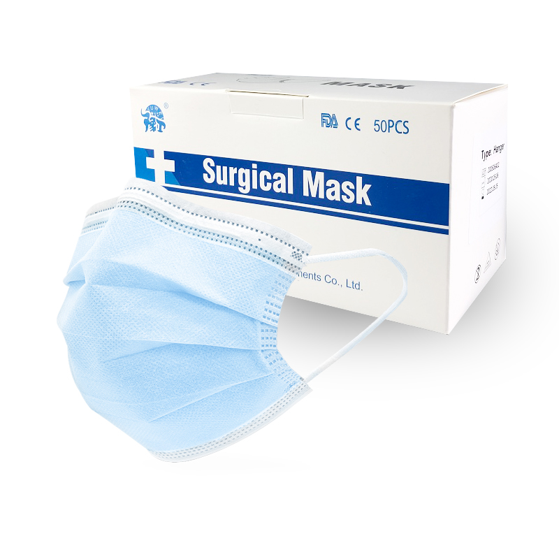 Surgical Mask Ce Standards Disposable Face Mask Medical Sterile Hygienic Health Mouth Mask 200/100/50/25 Pieces
