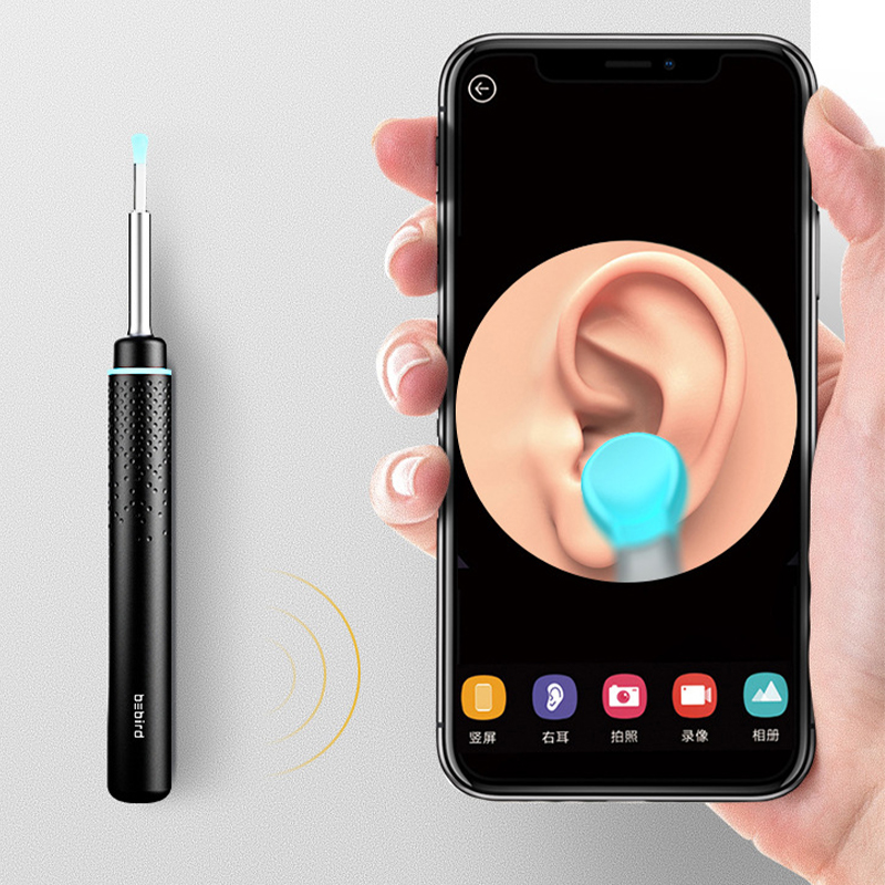 Smart Visual Ear Picking Rod Bebird M9 Pro Picking Rod Multifunction In-Ear Endoscope With Magnetically Charged Base For WiFi