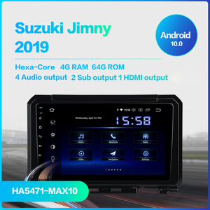 "Image 3 - Dasaita DSP 9"" IPS Touch Screen Android 10.0 Car Radio for Suzuki Jimny 2019 GPS Navigator HDMI Car Stereo Multimedia System"
