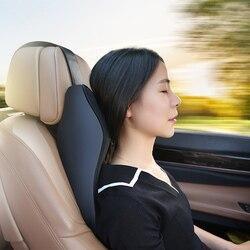 Voiture cou oreiller 3D mémoire mousse repose-tête réglable Auto appui-tête oreiller cou monture de support voiture intérieur accessoires