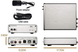 Image 5 - TOPPING D30 HIFI DSD DAC Amp Decoder CS4398 XMOS USB DAC Audio Decoder Coaxial Optical Fiber 24Bit/192KHz