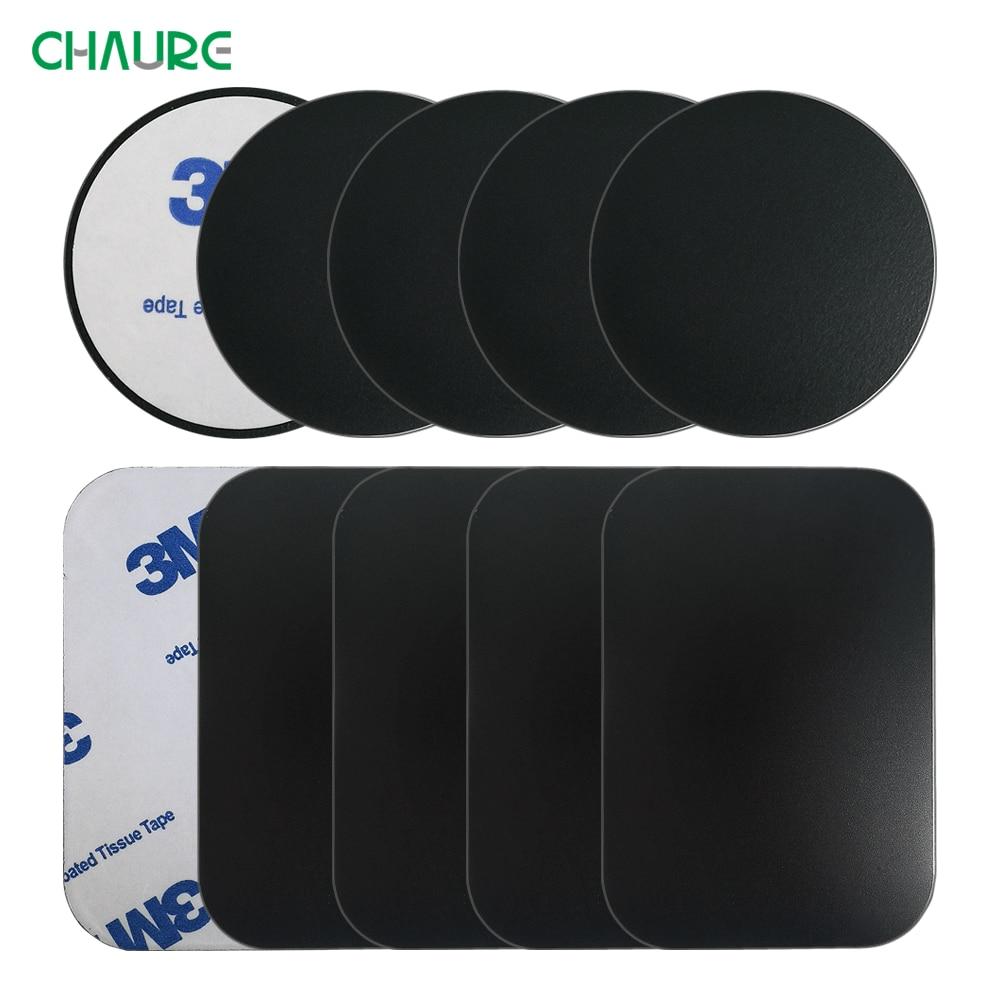 10pcs 5pcs Pack Metal Plate Disk For Magnet Car Phone Holder iron Sheet Sticker For Magnet Mobile Phone Holder Car Stand Mount