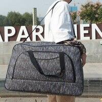 Große Kapazität männer Reisetasche Reise Frauen Wasserdicht Mode Big Duffle Tasche Wochenende Lagerung Schulter Hand Gepäck Taschen