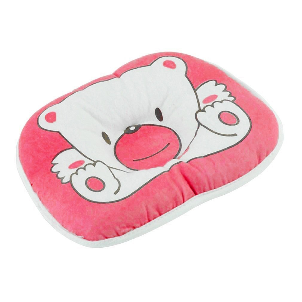 Wholesale 10pcs/1set  Bear Pattern Pillow Newborn Infant Baby Support Cushion Pad Prevent Flat Head 100% Top Good