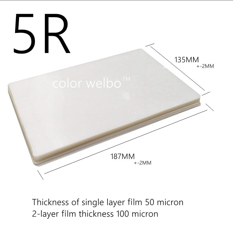 Купить с кэшбэком PET Plastic film A4 A3 A5 4R 5R plastic film photos menu file card film plastic machine over paper thermoplastic bag photo FILM